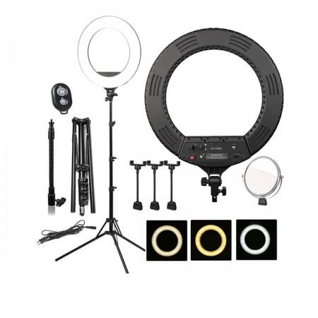 Лампа кольцевая Bucos BCS-R480 диаметр 46 см 80 вт
