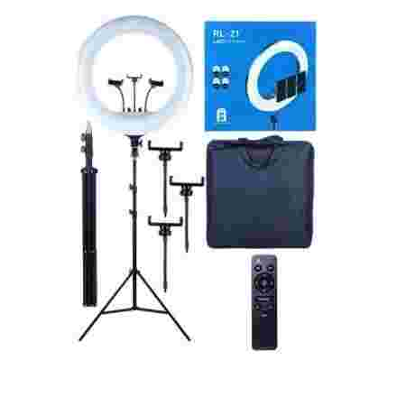 Лампа кольцевая с штативом RL-21 диаметр 55 см 60 Вт