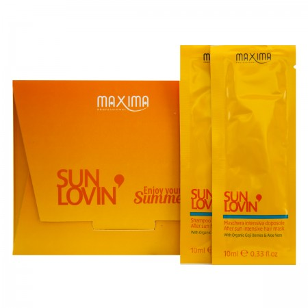Набор Sun Lovin (шампунь+маска) 2х10 мл