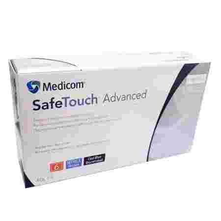 Перчатки нитрил без пудры нестерильные SafeTouch Advanced Lavender 100 шт р M