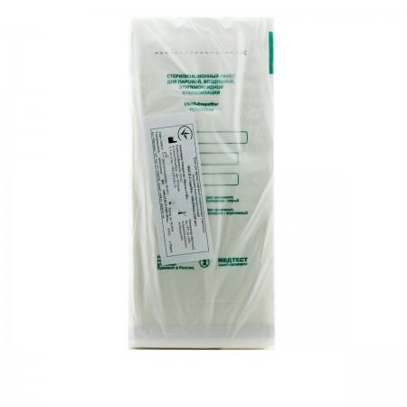 Пакеты Медтест самоклеющиеся  для стерелизации белые ПБСП - СтериМаг 100*200 100 шт