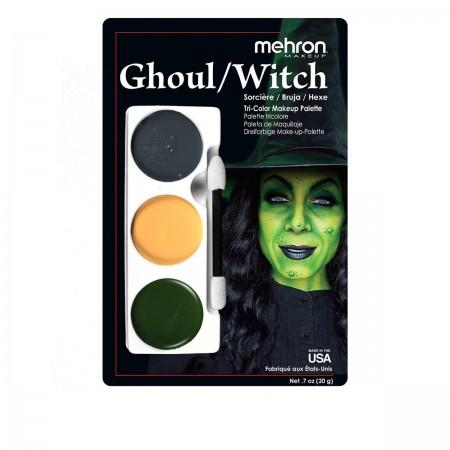 """Набор кремового грима для образа MEHRON """"Ведьма Готика"""" 20 г"""