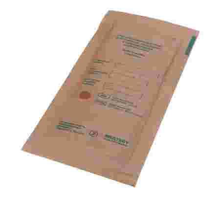 Пакет-крафт для стерилизации инструментов 100х200 мм 100 шт МикроStop (крафт)