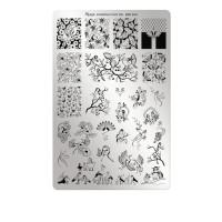 Пластины для стемпинга Moyra (100)