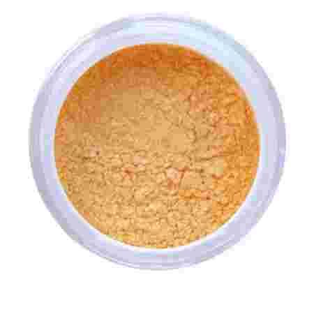 Пигмент цветной NailApex в банке золотой