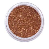 Песок в баночке NailApex 5 г 108 бронзово-золотой