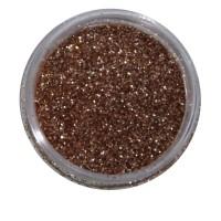 Песок в баночке NailApex 5 г холодное золото