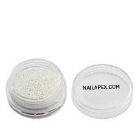 Песок в баночке NailApex 5 г 125 синий темный мелкий