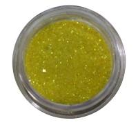 Песок в баночке NailApex 5 г желтый светлый