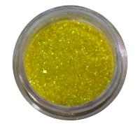 Песок в баночке NailApex 5 г желтый