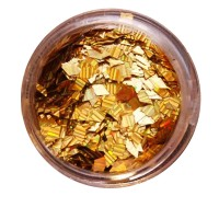 Ромбы NailApex 185 золото