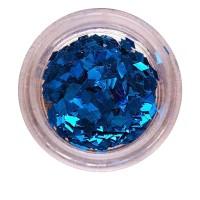Ромбы NailApex синий