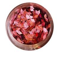 Ромбы NailApex 188 розовый