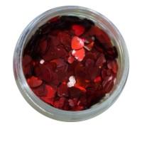 Конфетти NailApex 29 сердце красное