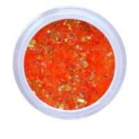 Слюда NailApex 09 оранжевый