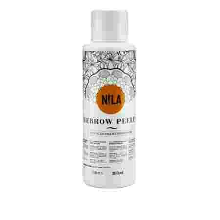Средство Nila Eyebrow Peeling для очищения волосков и кожи 100 мл