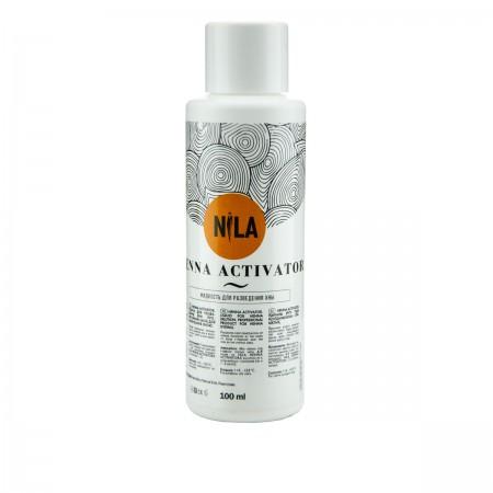 Жидкость Nila Henna Activator для разведения хны 100 мл