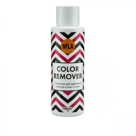 Ремувер для удаления краски и хны с кожи Nila COLOR Remover 100 мл