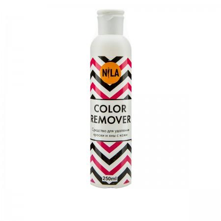 Ремувер для удаления краски и хны с кожи Nila COLOR Remover 250 мл