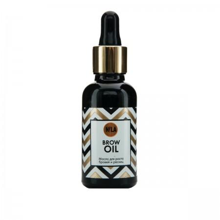 Масло Nila Brow Oil для роста бровей и ресниц 30 мл