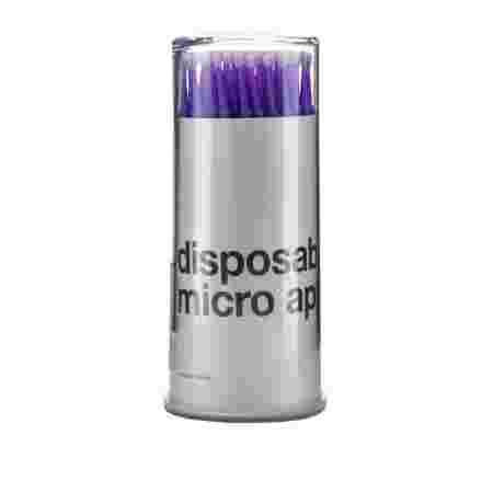 Палочки NoName (брашер) для ресниц 100 шт (Фиолетовый МА-102)