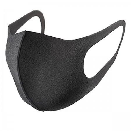 Маска защитная многоразовая PITTA Mask (Черная 3 шт в уп)
