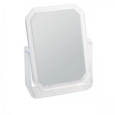 Зеркало в прямоугольной рамке двухстороннее 19х14 см