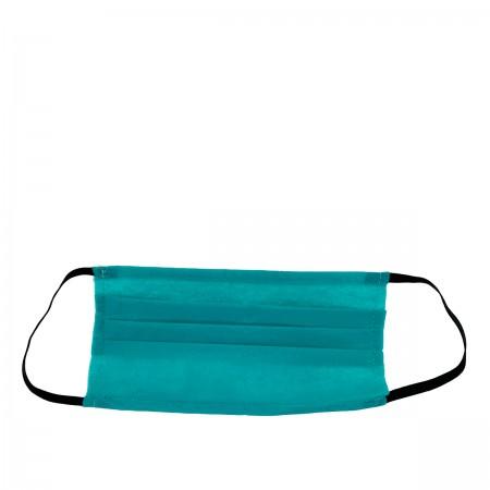 Маска защитная 3-х слойная прошитая 1 шт (Зеленая)