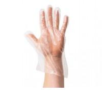 Перчатки прозрачные HDPE 25х29см 100 шт/упак