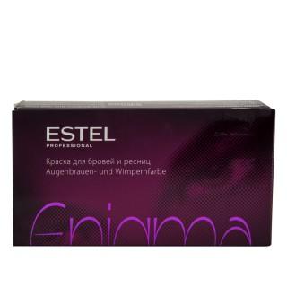 Краска для бровей и ресниц ESTEL ENIGMA бордо 20 мл + 20 мл