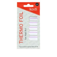 Термо-фольга для дизайна ногтей KODI 21