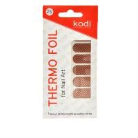 Термо-фольга для дизайна ногтей KODI 25