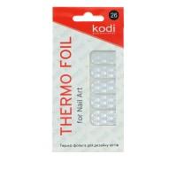 Термо-фольга для дизайна ногтей KODI 26