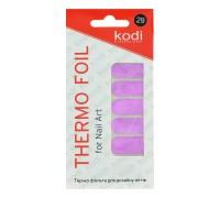 Термо-фольга для дизайна ногтей KODI 29