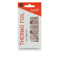 Термо-фольга для дизайна ногтей KODI 35