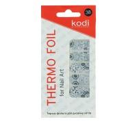 Термо-фольга для дизайна ногтей KODI 38