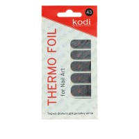 Термо-фольга для дизайна ногтей KODI 43