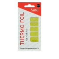 Термо-фольга для дизайна ногтей KODI 51