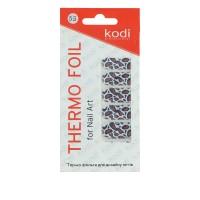 Термо-фольга для дизайна ногтей KODI 55