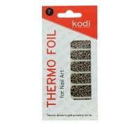 Термо-фольга для дизайна ногтей KODI 07