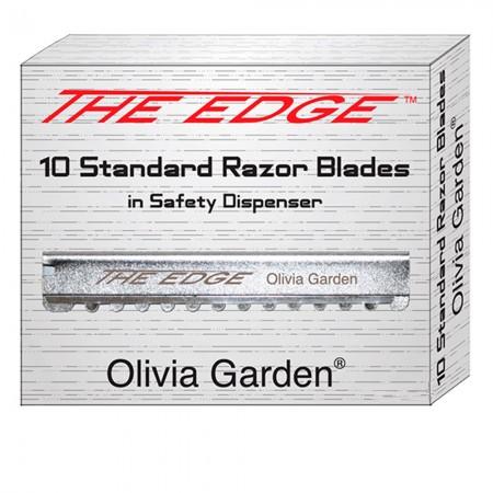 Лезвие Olivia Garden к бритве The Edge 10 шт