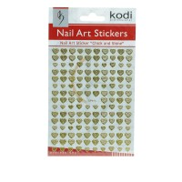 Наклейки для ногтей KODI Nail Art Stickers Gold 013SP