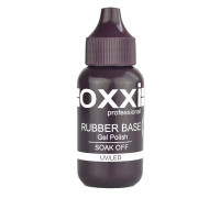 База для гель-лака Oxxi GRAND Rubber Base 30 мл  (Узкий носик)