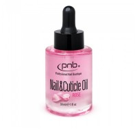 Масло PNB Nail & Cuticle Oil Rose для ногтей и кутикулы с розой 30 мл