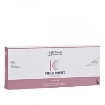 Ампулы Profesional Cosmetics Keratin Treatment кератиновые