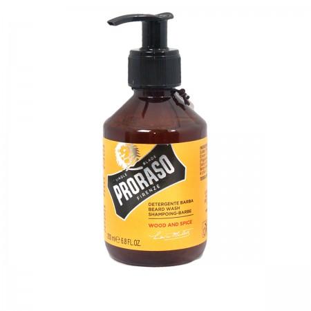 Шампунь для бороды Proraso Wood & Spice Beard Wash 200 мл