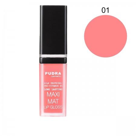 Матовая помада для губ Pudra Maxi Matt (01)