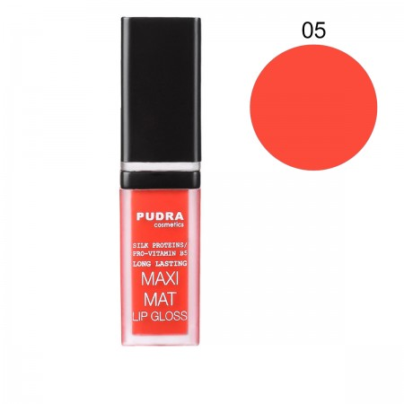Матовая помада для губ Pudra Maxi Matt (05)