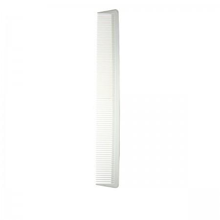 Гребень Salon Carbon Line белый в ассортименте (0228)