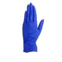Перчатки нитрил супермягкие SFM фиолетовый 100 шт (L)